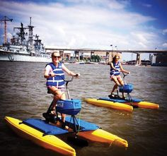 A Buffalo summer just wouldn't be complete without some time spent on the water. Boats and kayaks are nice, but if you're feeling venturesome than a water bike may be in your future. Water Bikes of Buffalo are conveniently located on the boardwalk at Canalside and allow you to explore one of Buffalo's most treasured...