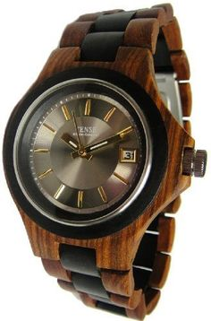 Tense Metro Watch  Mens Sandalwood  Dark Sadndalwood One Size >>> Check out the image by visiting the link.