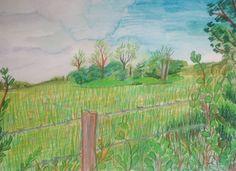 Joseph M Dunn, John Feeney farmland Ireland on ArtStack #joseph-m-dunn #art