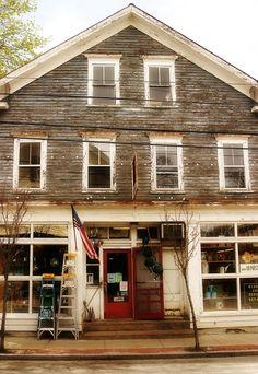 Mercier's Hardware Store Front, Warren, Rhode Island - now closed due to national economy. :(