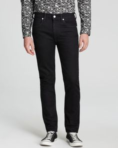 Levi's California Jeans - Straight Fit in Black - Bloomingdale's Exclusive