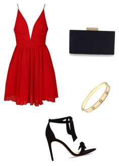"""Untitled #44"" by alexarc on Polyvore featuring Ally Fashion, Alexandre Birman, Monsoon and Cartier"