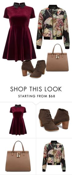 """""""X-mas 16"""" by rebeca-frausto on Polyvore featuring Miss Selfridge and Dolce&Gabbana"""