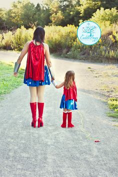 Me and My girl <3     mother/daughter pose wonder woman fun session