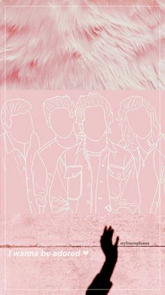 """One Direction """"Pink"""" Lockscreen 