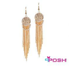 Deniz- Earrings Product Number: Elegant Gold Colour dangling earrings set with crystal stones Beautiful Gorgeous, Stones And Crystals, Gold Colour, Color, Earring Set, Dangle Earrings, Women Jewelry, Display, Site Web