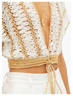 Crochet Blouse, Crochet Shawl, Knit Crochet, Crochet Motif, Crochet Top Outfit, Crochet Designs, Crochet Patterns, Loom Patterns, Hairpin Lace Crochet