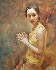 by Liu Yaming [yellow shirt]