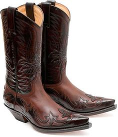 Country Boots, Western Boots, Leather Men, Leather Boots, High Heel Cowboy Boots, Boot City, Cowboy Outfits, Boots Online, Dress With Boots