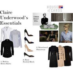 Claire Underwood Essentials Part One