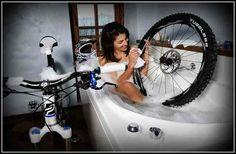 Lavar tu bicicleta rápidamente