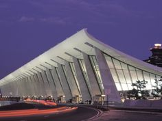 View of Dulles Airport in Virginia