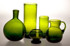 "Horbowy Zbigniew Zestaw szkła ""Antico"" ASP im. Eugeniusza Gepperta | dokumenty, sztuki, działy Glass Art, Art Deco, Vase, Bottle, Polish, Vintage, Design, Collections, Home Decor"