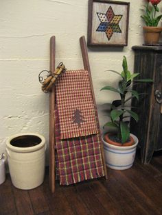Hey, I found this really awesome Etsy listing at http://www.etsy.com/listing/128979224/primitive-ladder-country-dollhouse