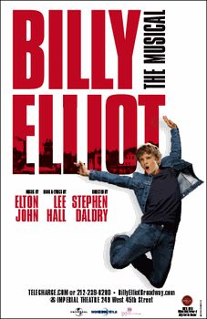 Billy Elliot the Musical Broadway Poster