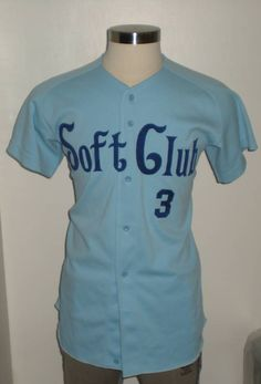 Vintage Rare Soft Club #3 1980's Softball Jersey (Medium) (R20) | Sports Mem, Cards & Fan Shop, Fan Apparel & Souvenirs, Baseball-Other | eBay!