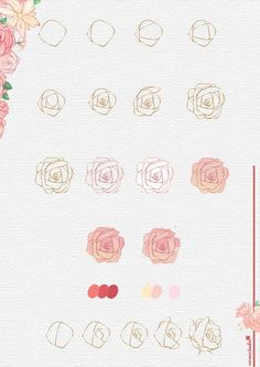 30 Simple Ways to Draw Flowers // Things to draw, rose drawing, drawing ideas, flower drawing ideas, how to draw The post 30 Ways to Draw Flowers appeared first on Woman Casual. Simple Flower Drawing, Flower Drawing Tutorials, Flower Art Drawing, Simple Line Drawings, Flower Sketches, Simple Flowers, Art Tutorials, Painting & Drawing, Drawing Drawing