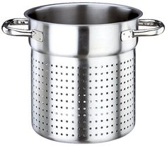 Paderno World Cuisine  11 Inch Stainless Steel Stock Pot Colander >>> Discover this special product, click the image : Steamers, Stock and Pasta Pots