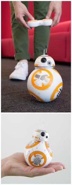 the most outstanding tech products of 2015 year. Sphero's BB-8 droid cutest droid in the entire galaxy #starwars #gadget #fanart