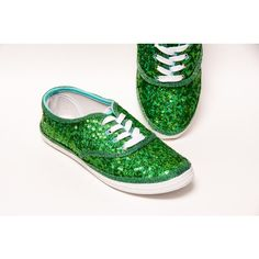 Tiny Sequin Starlight Cvo Brilliant Shamrock Green Canvas Sneaker... ($45) ❤ liked on Polyvore featuring shoes, sneakers, grey, sneakers & athletic shoes, tie sneakers, women's shoes, tennis trainer, green tennis shoes, sparkle sneakers and canvas sneakers shoes