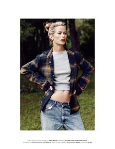 a portrait of a muse: carolyn murphy by dan martensen for muse #32 fall 2014