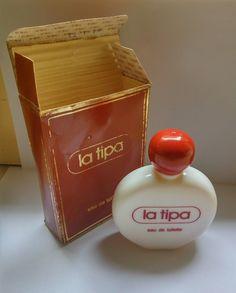 Vintage La tipa Eau de Toilette perfume Splash bottle 100 ml fl oz Funny Ads, Cigarette Case, Oldies But Goodies, Pen Case, My Childhood Memories, Jewellery Storage, Vintage Ads, 1980s, Nostalgia