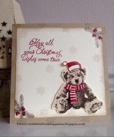 Create Handmade Happiness: Christmas Baby Bear