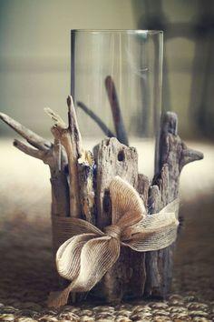 Ağaç Dalı ile Dekoratif Eşyalar