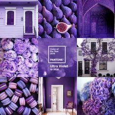Pantone Colour of 2018 - Ultra Violet - Antique Reproduction Shop Color Of The Year, Pantone Color, Ultra Violet, Antiques, Blog, Antiquities, Antique