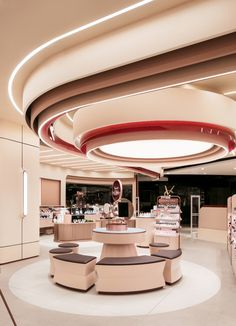 Home Decoration Ideas For Wedding Commercial Design, Commercial Interiors, Plafond Staff, Ecology Design, Plafond Design, Italia Design, Retail Store Design, False Ceiling Design, Retail Interior