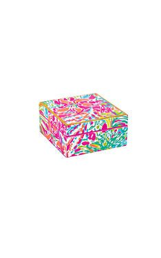 This Small Square Lacquer Box Is The Perfect Addition To Your Vanity Or Desk.  Store. Office SuppliesLilly PulitzerVanitiesDesk