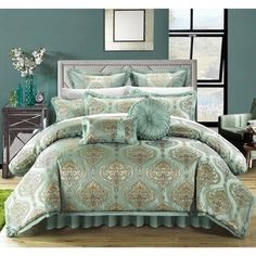 Michael Amini Elizabeth 13-piece Comforter Set - 17341257 -