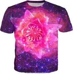 Lily Flower in Space | Rave & Festival Shirt