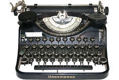 Black Underwood Typewriter  USA  ($425.00)   $239.00 Underwood Typewriter, Typewriters, Vintage Market, Vintage Furniture, Hat, Marketing, Antiques, Tattoos, Things To Sell