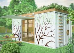 shipping container shelter design