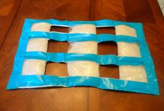 DIY Weighted Blanket, no sew. maybe to make a lap pad or foot pad?