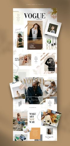 Discover recipes, home ideas, style inspiration and other ideas to try. Instagram Design, Instagram Feed, Instagram Layouts, Instagram Templates, Instagram Ideas, Vogue Tumblr, Vogue Madonna, Vogue Patterns, Photo Collage Design