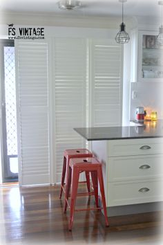 A little bit of industrial zing Industrial Chic, Kitchen Cabinets, Home Decor, Decoration Home, Room Decor, Cabinets, Industrial Style, Home Interior Design, Dressers