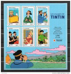 Timbres / tintin - Delcampe.fr