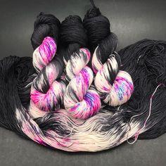 Yarn, hand dyed yarn, hauteknityarn, knit, crochet, knitting https://www.etsy.com/listing/573559698/jimmy-sock-hand-dyed-yarn-sock-yarn