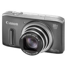 Aparat foto digital Canon Powershot SX260 HS grey