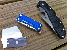 My Leatherman Squirt PS4 is my current favorite knife/tool for UL backpacking.