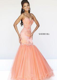 Sherri Hill 21278 Strapless Evening Gown