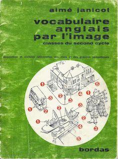 Janicot, Vocabulaire anglais par l'image