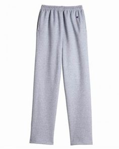 Champion - Eco Open Bottom Sweatpants with Pockets - P800 - starting at $14.12 | clothingshoponline.com #champion #cheap #sweatpants