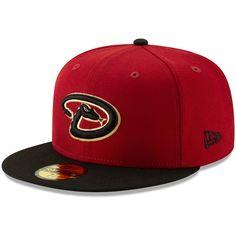 finest selection 6a063 31a23 Men s Arizona Diamondbacks New Era Red Alternate Logo 59FIFTY Fitted Hat,   34.99 Mlb,
