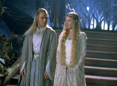 Galadriel and Celeborn - Fellowship of the Ring - Lord of the Rings - Cate Blanchett - Marton Csokas