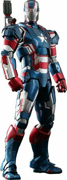 Marvel Iron Patriot Sixth Scale Figure by Hot Toys Marvel Comics, Hero Marvel, Films Marvel, Marvel Characters, Marvel Cinematic, Marvel Avengers, Captain Marvel, Poster Superman, Poster Marvel