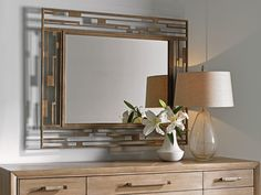 Lexington Furniture Shadow Play Studio Metal Mirror in Burnished Silver Decor, Upholstered Seating, Dresser With Mirror, Mirrors Wayfair, Accent Mirrors, Lexington Furniture, Metal Mirror, Lexington Home, Shadow Play
