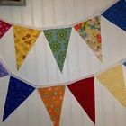 Decorative Colorful Handmade Flag Pennant Perfect for Festive Patios